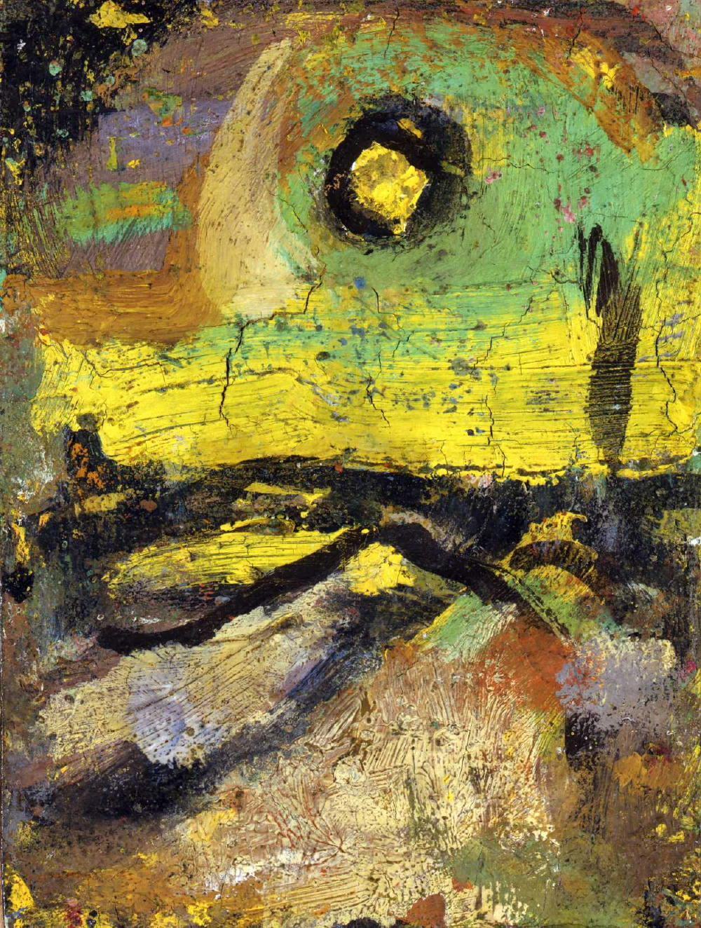 Georges rouault expressionist the ohio expressionist for Paysage