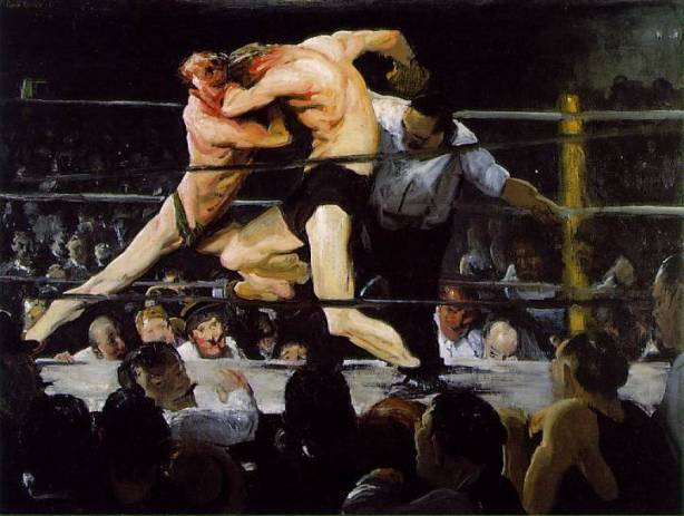Stag-at-Sharkeys-George-Bellows